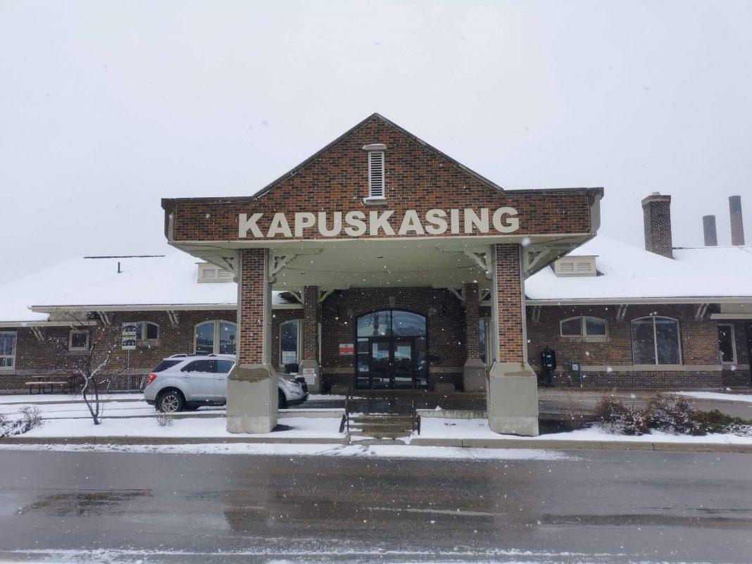 L'entrée de la Ville de Kapuskasing